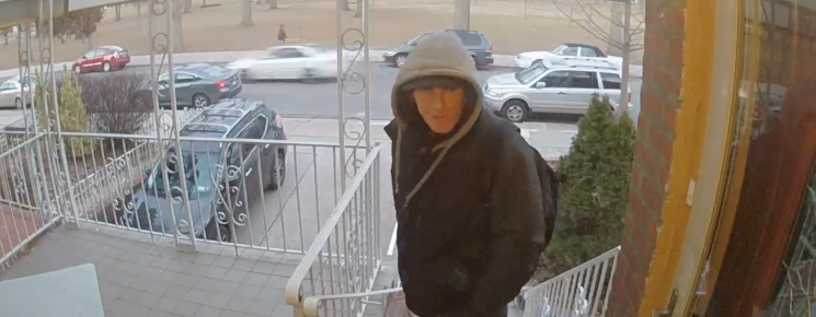 Guy who steals packages in our neighborhood